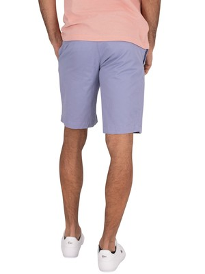 Lacoste Slim Chino Shorts - Blue