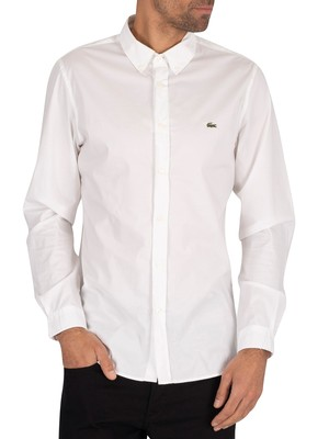 Lacoste Slim Fit Shirt - White