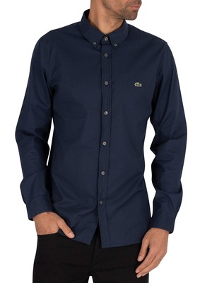 Lacoste Slim Fit Shirt - Navy