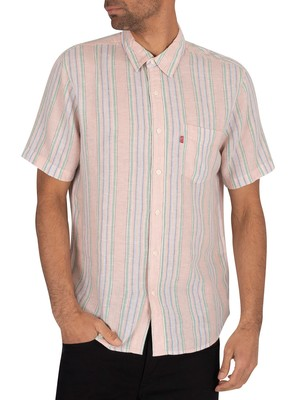 Levi's Sunset Pocket Shortsleeved Shirt - Aiden Farallo