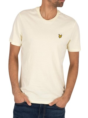Lyle & Scott Crew T-Shirt - Buttercream
