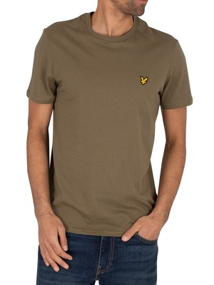 Lyle & Scott Crew T-Shirt - Lichen Green
