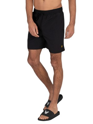 Lyle & Scott Plain Swim Shorts - Jet Black