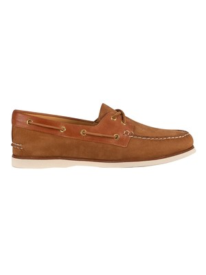 Sperry Top-Sider Gold Seaside Boat Shoes - Brown