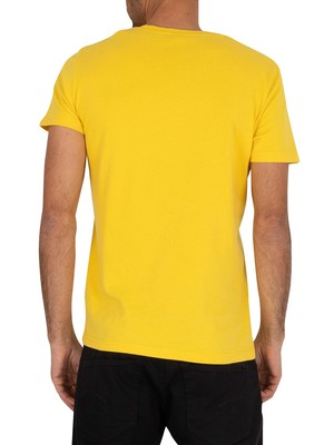 Superdry Premium Goods Tonal Injection T-Shirt - Nautical Yellow