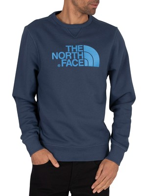 The North Face Drew Peak Sweatshirt - Blue Wing Teal