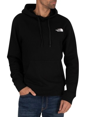 The North Face Graphic Pullover Hoodie - Black/White