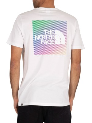 The North Face Graphic T-Shirt - White/Lemon