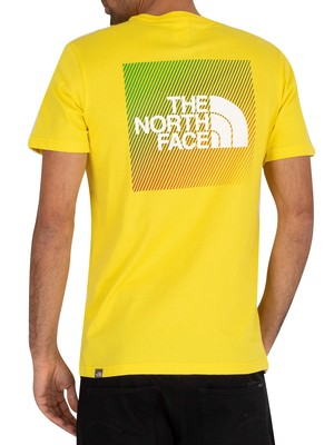 The North Face Graphic T-Shirt - Lemon/White