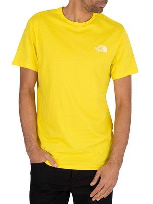 The North Face Simple Dome T-Shirt - Lemon