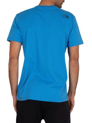 The North Face Simple Dome T-Shirt - Clear Lake Blue