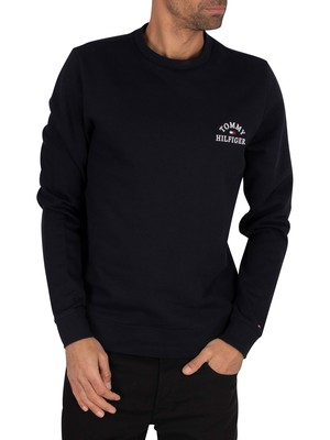 Tommy Hilfiger Basic Embroidered Sweatshirt - Desert Sky