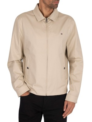 Tommy Hilfiger Lightweight Cotton Flex Ivy Jacket - Light Stone