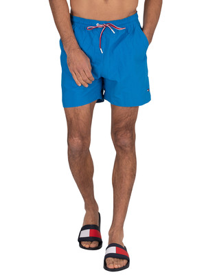 Tommy Hilfiger Medium Drawstring Swim Shorts - Intense Blue