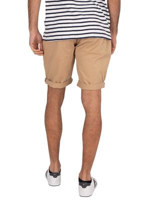Tommy Jeans Essential Slim Chino Shorts - Classic Khaki