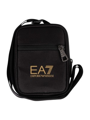 EA7 Mini Pouch Bag - Black