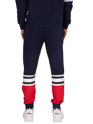 Fila Priscus Joggers - Peacoat/Red/White