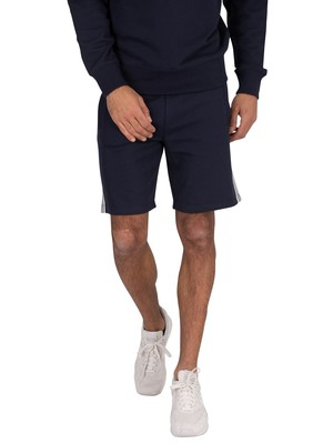 GANT Stripe Sweat Shorts - Evening Blue