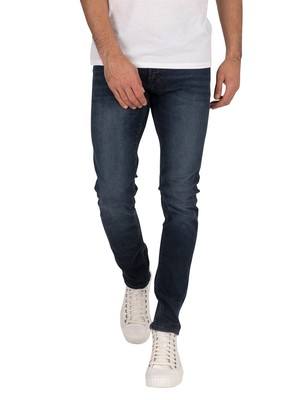 Jack & Jones Glenn Felix Slim 458 Jeans - Black Denim