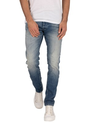 Jack & Jones Glenn Original Slim 887 Jeans - Blue Denim