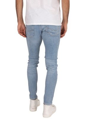 Jack & Jones Liam Original Skinny 792 Jeans - Blue Denim