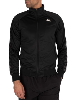 Kappa 222 Banda Anniston Slim Fit Jacket - Black/White