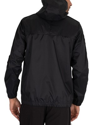 Kappa 222 Dawson Banda Jacket - Black/White