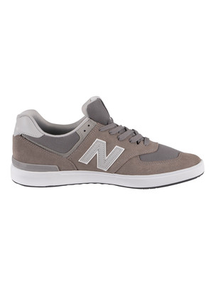 New Balance 574 All Coast Suede Trainers - Grey
