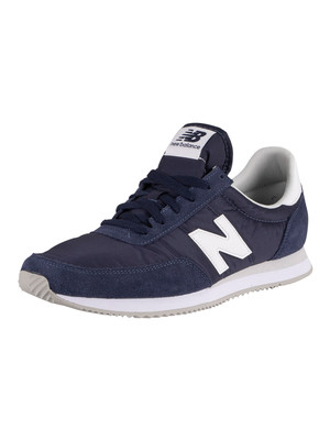 New Balance 720 Heritage Racing Trainers - Pigment/White
