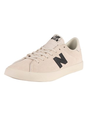 New Balance All Coasts AM210 Suede Trainers - White/Black