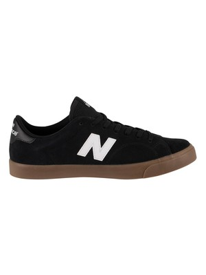 New Balance All Coasts AM210 Suede Trainers - Black/Gum