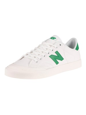 New Balance Pro Court Trainers - White/Varsity Green