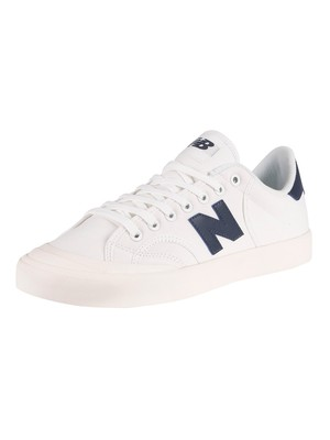 New Balance Pro Court Trainers - White/Atlantic