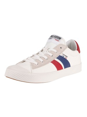Palladium Pallaphoenix Flame C Trainers - Star White/French