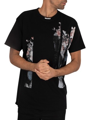 Religion Butterfly T-Shirt - Black