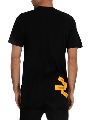 Religion Label T-Shirt - Black
