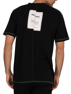 Religion Mono T-Shirt - Black/White
