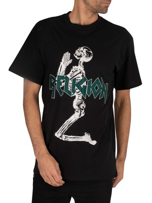 Religion Platinum T-Shirt - Black/Green