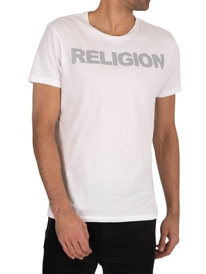 Religion Reflect T-Shirt - White