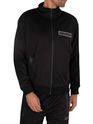 Religion Shadow Track Jacket - Black
