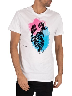 Religion Splash T-Shirt - White