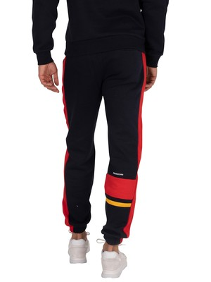 Sergio Tacchini Firoz Joggers - Navy/Vintage Red