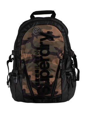 Superdry Tarp Backpack - Green Camo