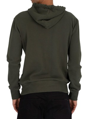 Superdry Tonal Injection Zip Hoodie - Pine