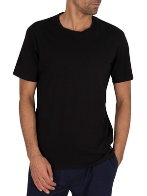 Ted Baker 3 Pack Lounge Crew T-Shirts - Black