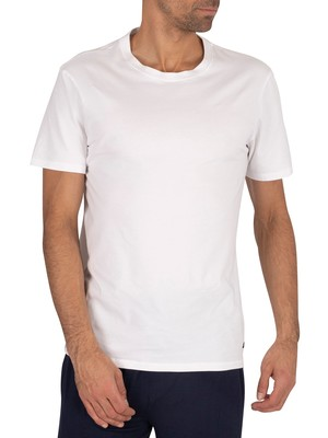 Ted Baker 3 Pack Lounge Crew T-Shirts - White