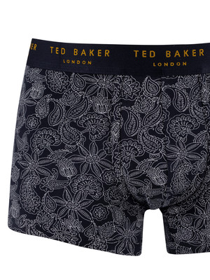 Ted Baker 3 Pack Trunks - Renfew/Copen Blue/Sub T Let