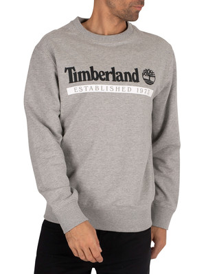 Timberland 1973 Sweatshirt - Medium Grey Heather