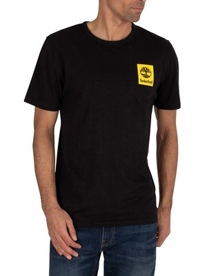 Timberland Back Logo T-Shirt - Black