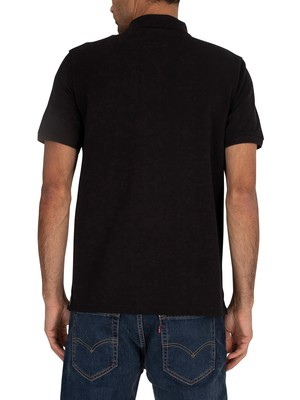Timberland Branded Polo Shirt - Black
